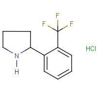 2-[2-(Trifluoromethyl)phenyl]pyrrolidine hydrochloride