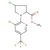 Methyl 4-chloro-1-[3-chloro-5-(trifluoromethyl)pyridin-2-yl]pyrrolidine-2-carboxylate