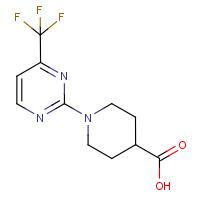 1-[4-(Trifluoromethyl)pyrimidin-2-yl]piperidine-4-carboxylic acid