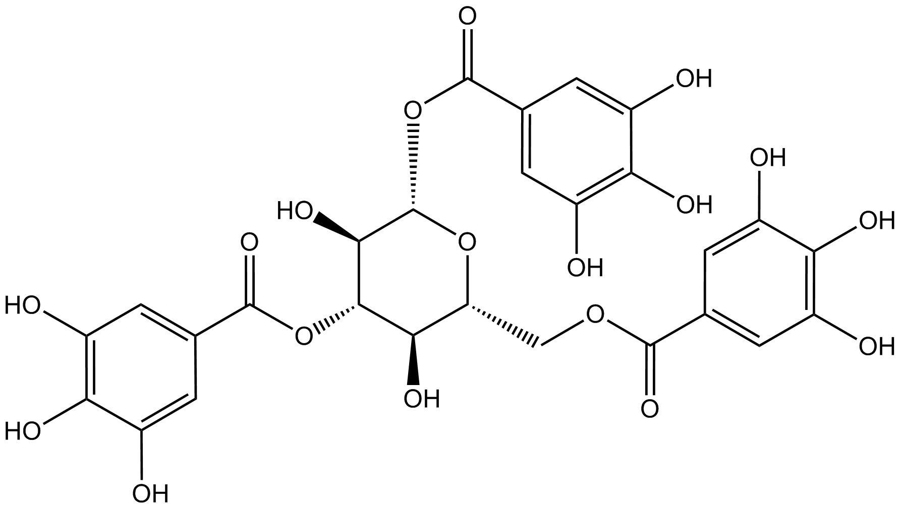 1,3,6-trigalloyl -d-glucose