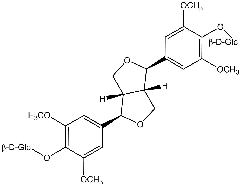 (-)-syringaresinol 4,4'-di-o--d-glucoside