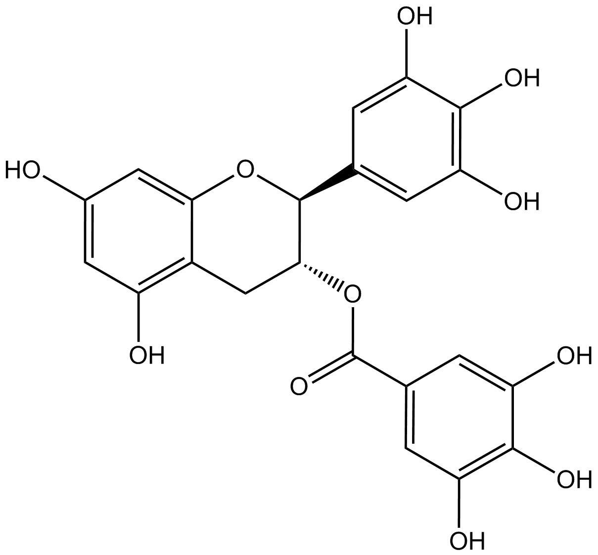 (-)-gallocatechin 3-gallate