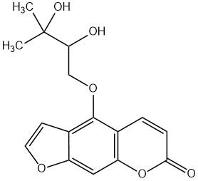 Oxypeucedanin hydrate