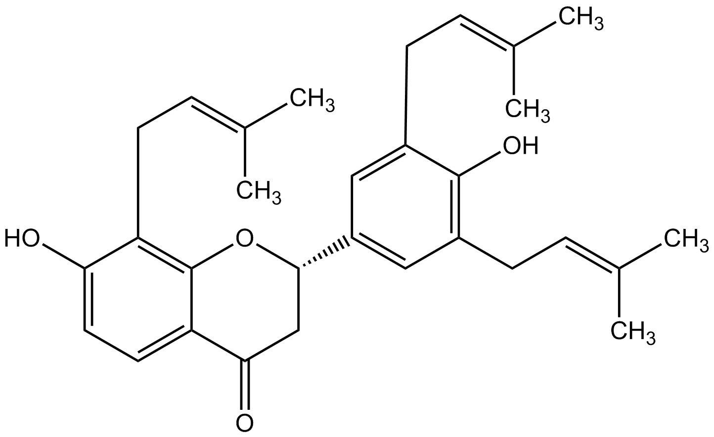 (-)-sophoranone