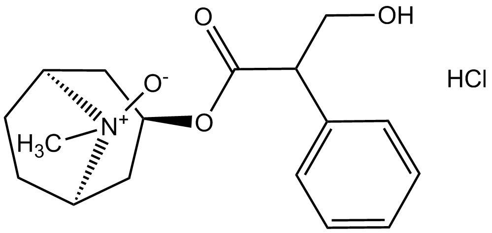 Atropine n-oxide hydrochloride