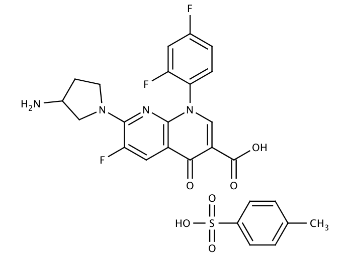 Tosufloxacin tosylate hydrate