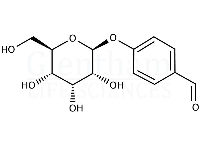 4-Formylphenyl b-D-allopyranoside