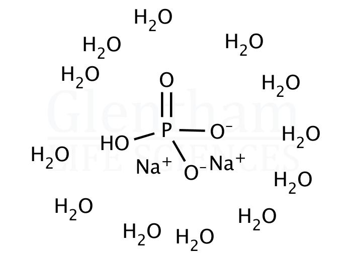 di-Sodium hydrogen phosphate dodecahydrate, 99%, Ph. Eur., USP grade