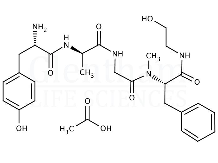 [D-Ala2, N-Me-Phe4, Gly5-ol]-Enkephalin acetate salt