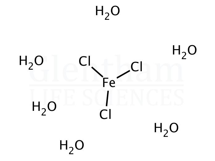 Iron(III) chloride hexahydrate, 97%