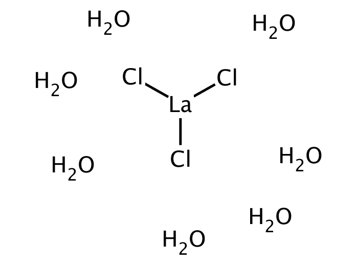 Lanthanum chloride heptahydrate