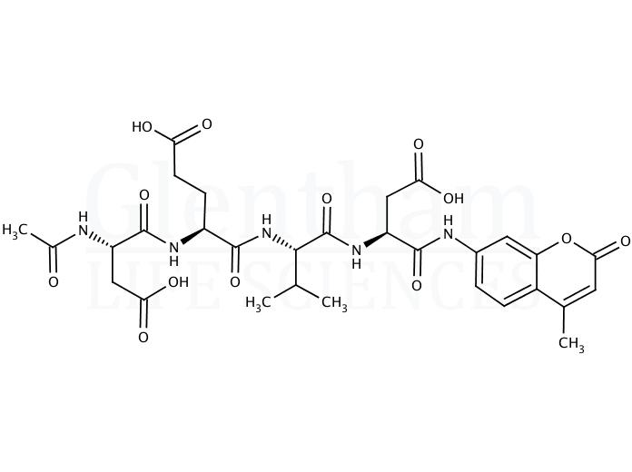 N-Acetyl-Asp-Glu-Val-Asp-7-amido-4-methylcoumarin