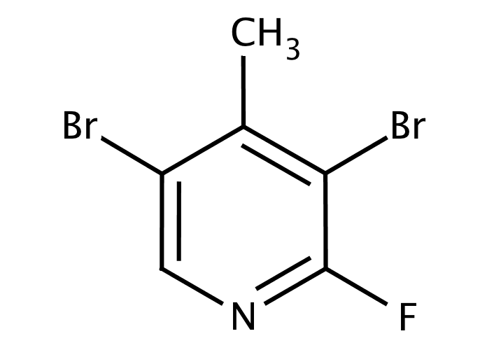 3,5-Dibromo-2-fluoro-4-picoline (3,5-Dibromo-2-fluoro-4-methylpyridine)