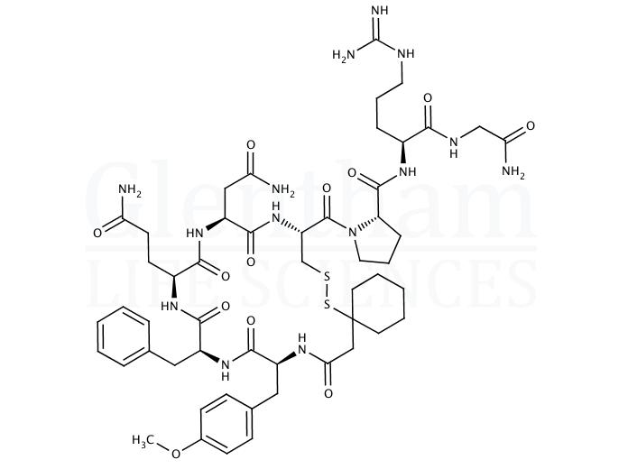[-Mercapto-,-cyclopentamethylenepropionyl1, O-me-Tyr2, Arg8]-Vasopressin
