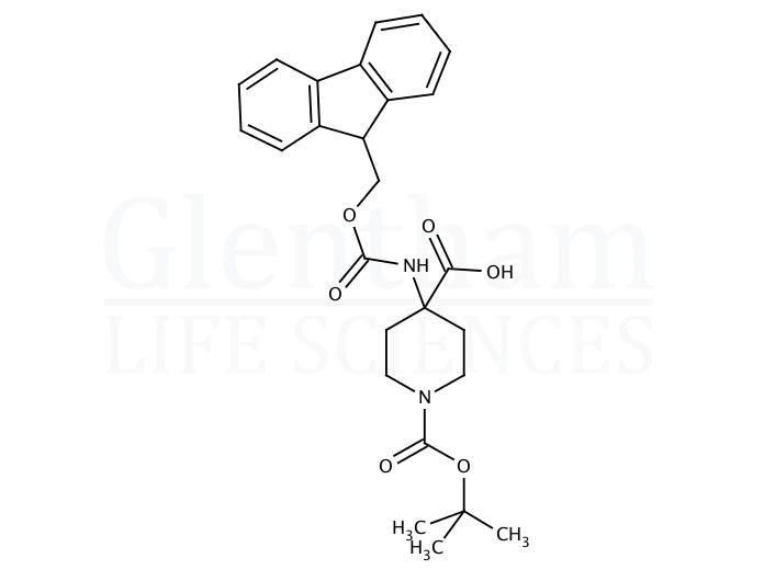N-Boc-4-(Fmoc-amino)piperidine-4-carboxylic acid