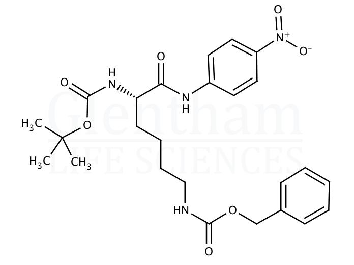 Boc-Lys(Z)-pNA
