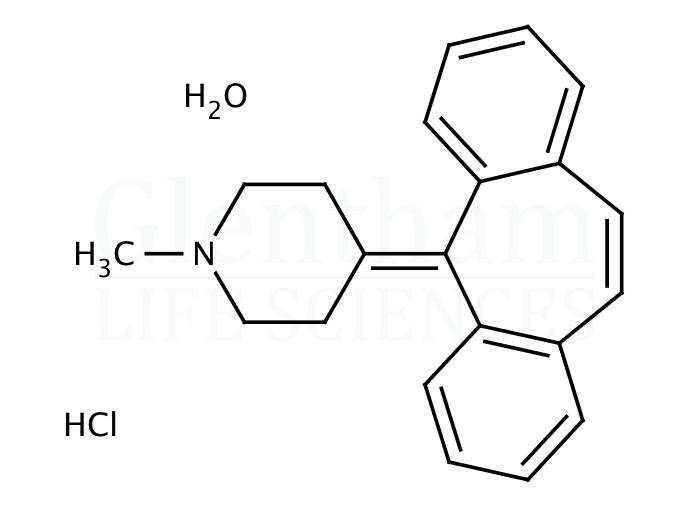 Cyproheptadine hydrochloride sesquihydrate, USP grade