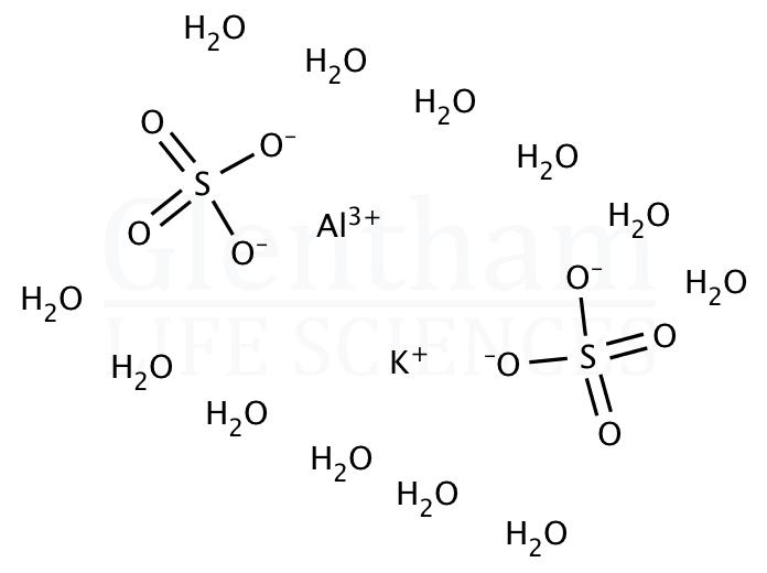 Aluminium potassium sulfate dodecahydrate, 99%
