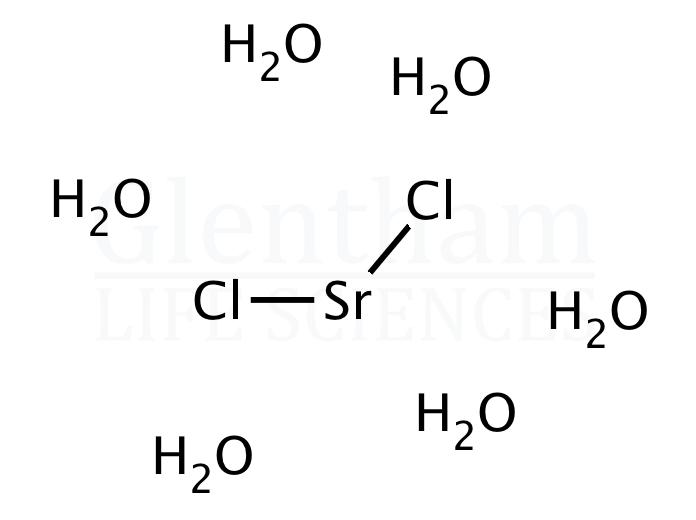 Strontium chloride hexahydrate, 99%, ACS grade