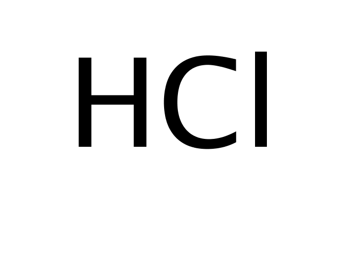 Hydrochloric acid, 0.5M solution