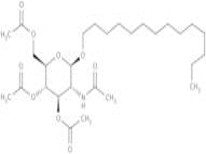 Tetradecyl 2-acetamido-2-deoxy-3,4,6-tri-O-acetyl-b-D-glucopyranoside
