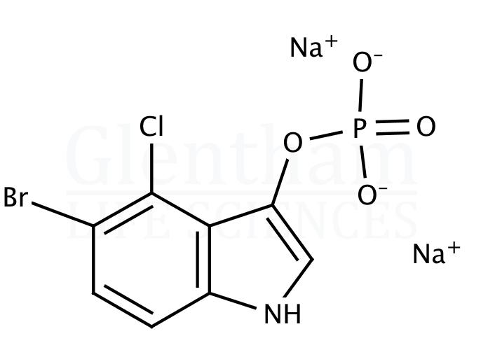 5-Bromo-4-chloro-3-indolyl phosphate disodium salt
