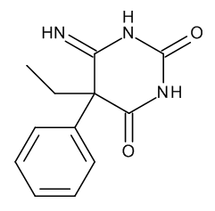 (5RS)-5-Ethyl-6-imino-5-phenyldihydropyrimidine-2,4(1H,3H)-dione