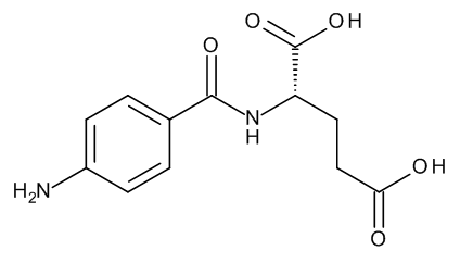(2S)-2-[(4-Aminobenzoyl)amino]pentanedioic Acid (N-(4-Aminobenzoyl)-L-glutamic Acid)