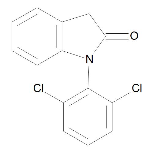 1-(2,6-Dichlorophenyl)-1,3-dihydro-2H-indol-2-one