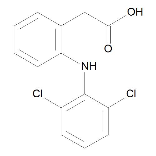 2-[2-[(2,6-Dichlorophenyl)amino]phenyl]acetic Acid (Diclofenac)