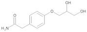 2-[4-[(2RS)-2,3-Dihydroxypropoxy]phenyl]acetamide