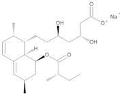 (3R,5R)-7-[(1S,2S,6R,8S,8aR)-2,6-Dimethyl-8-[[(2S)-2-methylbutanoyl]oxy]-1,2,6,7,8,8a-hexahydronaphthalen-1-yl]-3,5-dihydroxyheptanoic Acid Sodium Salt (Lovastatin Hydroxy Acid Sodium Salt)
