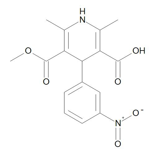 1,4-Dihydro-2,6-dimethyl-4-(3-nitrophenyl)pyridine-3,5-dicarboxylic Acid Methyl Ester