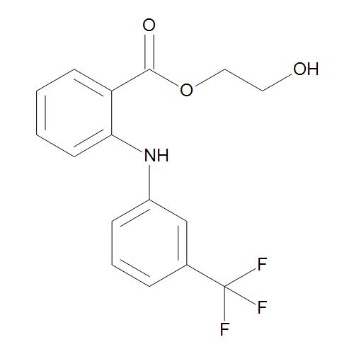 2-Hydroxyethyl 2-[[3-(Trifluoromethyl)phenyl]amino]benzoate