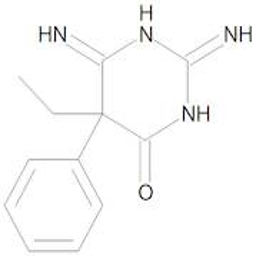 (5RS)-5-Ethyl-2,6-diimino-5-phenyltetrahydropyrimidin-4(1H)-one