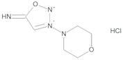 3-(Morpholin-4-yl)sydnonimine Hydrochloride (Linsidomine Hydrochloride)