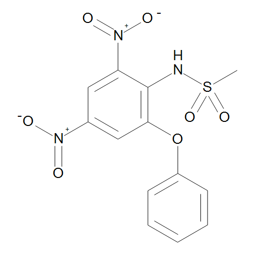 N-(2,4-Dinitro-6-phenoxyphenyl)methanesulphonamide