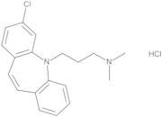 3-(3-Chloro-5H-dibenzo[b,f]azepin-5-yl)-N,N-dimethylpropan-1-amine Hydrochloride