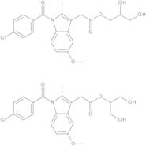 Indometacin 1,2,3-Propanetriol Esters (Mixture of Isomers)