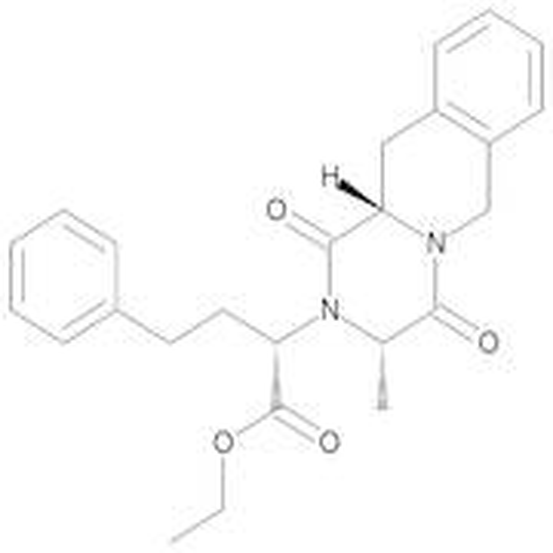 Ethyl (2S)-2-[(3S,11aS)-3-Methyl-1,4-dioxo-1,3,4,6,11,11a-hexahydro-2H-pyrazino[1,2-b]isoquinolin-2-yl]-4-phenylbutanoate