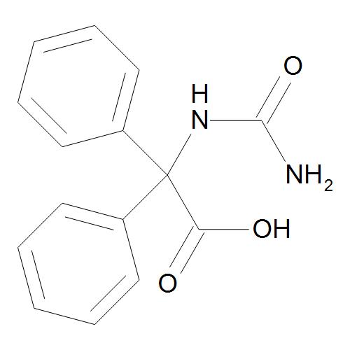 (Carbamoylamino)(diphenyl)acetic Acid