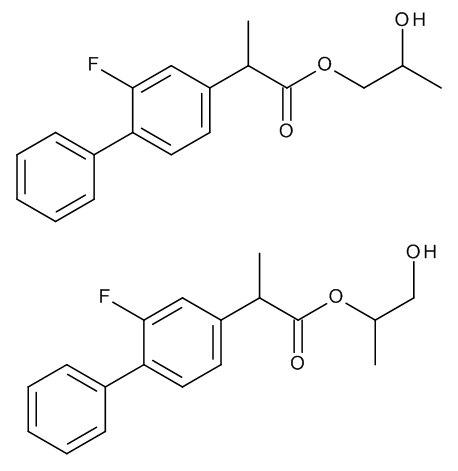 Flurbiprofen 1,2-Propylene Glycol Esters (Mixture of Regio- and Stereoisomers)