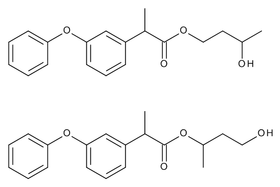 Fenoprofen 1,3-Butylene Glycol Esters (Mixture of Regio- and Stereoisomers)