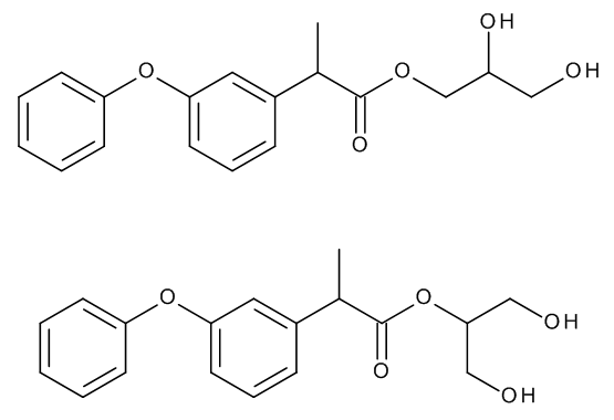 Fenoprofen 1,2,3-Propanetriol Esters (Mixture of Regio- and Stereoisomers)