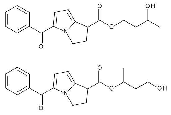 Ketorolac 1,3-Butylene Glycol Esters (Mixture of Regio- and Stereoisomers)