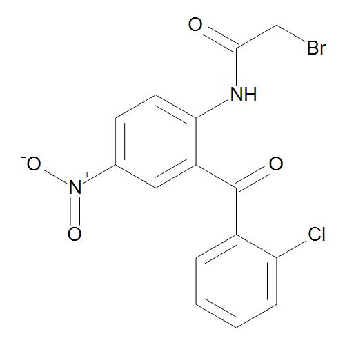 2-Bromo-2'-(2-chlorobenzoyl)-4'-nitroacetanilide