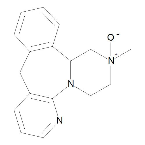 (14bRS)-2-Methyl-1,2,3,4,10-14b-hexahydropyrazino[2,1-a]pyrido[2,3-c][2]benzazepine 2-Oxide
