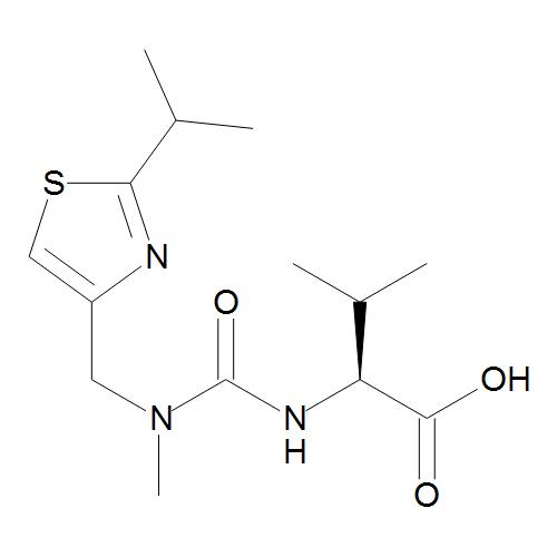 (2S)-3-Methyl-2-[[methyl[[2-(1-methylethyl)thiazol-4-yl]methyl]carbamoyl]amino]butanoic Acid