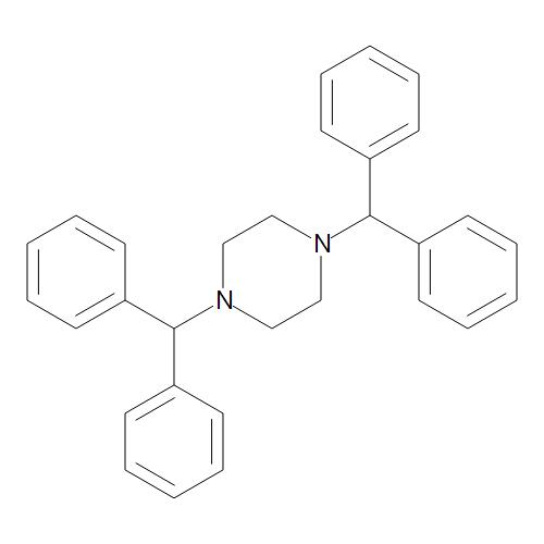 1,4-Bis(diphenylmethyl)piperazine