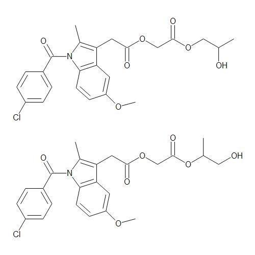 Acemetacin 1,2-Propylene Glycol Esters (Mixture of Isomers)